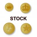 Fichas metálicas en stock para entrega inmediata