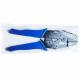 Alicates de prensado ergonómicos con trinquete para pulseras de festival