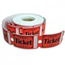 Boletos de boletos de entrada hechos de papel de alto grado