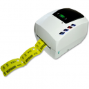 Impresora JMB4+ con tickets de vestuario térmico impresos