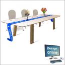 Camino de mesa para fiestas - Diseño