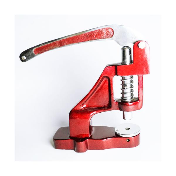 Herramienta de engarzado de mesa para presionar sellos en pulseras textiles