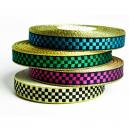 Rollo de cinta elegante en damas metálicas para pulseras textiles