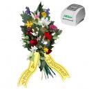 Imprima como desee cuando lo desee, cintas de ramo con impresora térmica JMB4+