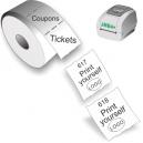 Imprima sus boletos y cupones con la impresora térmica directa JMB4+