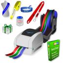 Impresora térmica JMB4+ que imprime en rollos de cintas de papel, cintas de poliéster y cintas polyprotex