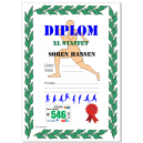 Diploma de participante impreso a todo color