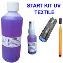 Kit de inicio UV para marcar prendas textiles