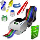 Impresora térmica JMB4 que imprime en rollos de cintas de papel, cintas de poliéster y cintas polyprotex