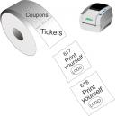 Imprima sus boletos y cupones con la impresora térmica directa JMB4