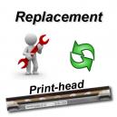 Reemplazo del cabezal de impresión