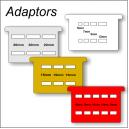 Adaptadores para imprimir simultáneamente en algunas cintas