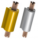 Láminas en oro y plata para impresora de transferencia térmica JMB4+