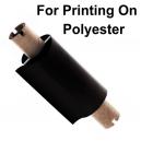 Láminas para impresión con una impresora de transferencia térmica sobre poliéster