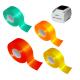 Rollos de cinta adhesiva reflectante para impresora de transferencia térmica JMB4