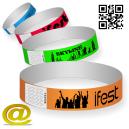 Las pulseras de papel envían su diseño y obtienen un diseño.