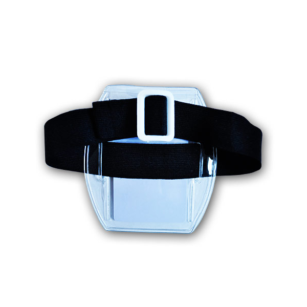 Bolsillo de brazo hecho de PVC transparente