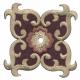 Parche bordado de lujo para planchar en paños