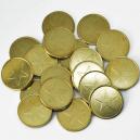 Monedas de metal que tenemos almacenadas