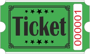 Roll Tickets - Verde