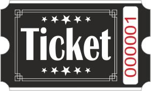 Roll Tickets - Negro