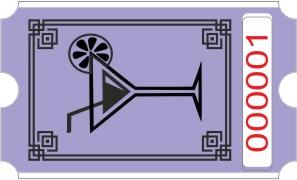Rollo cóctel - Púrpura