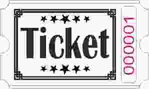 Roll Tickets - Blanco