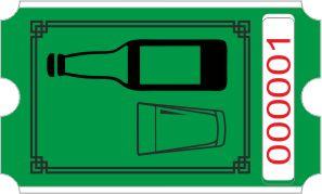 Rollo de botella - verde